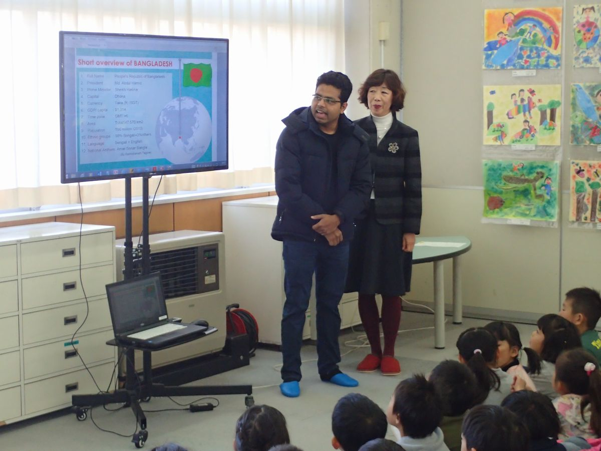 小学校国際理解講座